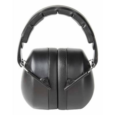 Black Folding Earmuff (Case of 5)