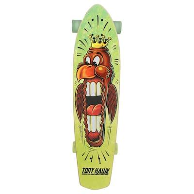 34 in. Big Hawk Mouth Cruiser Skateboard