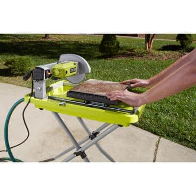 9 Amp Corded 7 in. Overhead Wet Tile Saw