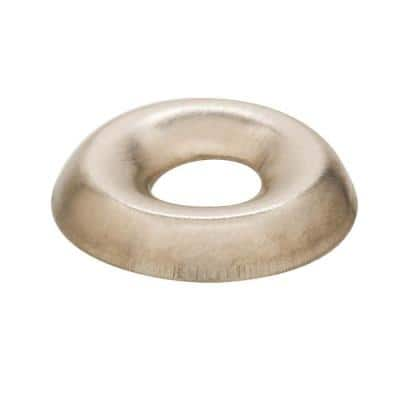 #8 Stainless-Steel Finishing Washer (50-Piece)