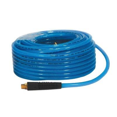 1/4 in. x 100 ft. 200 psi Reinforced Premium Polyurethane Air Hose with Field Repairable Ends