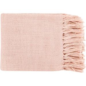 Montevallo Pale Pink Throw Blanket