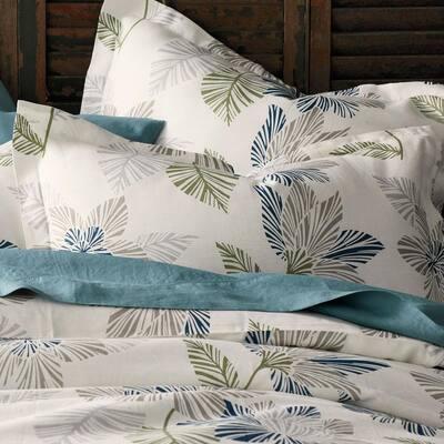 Grady Floral Linen Duvet Cover