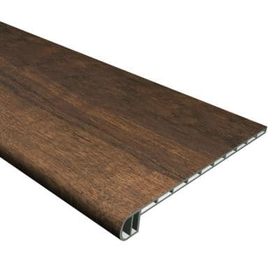 Vinyl Pro Classic Hickory Brook 1 in. T x 11-1/2 in. W x 48-5/16 in. L Vinyl Stair Tread