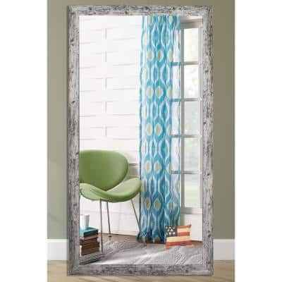 Oversized Rectangle White Mirror (72 in. H x 39 in. W)