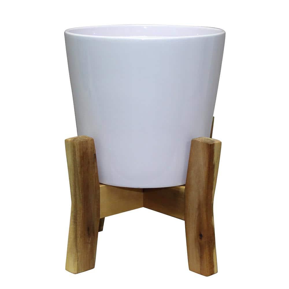 Rustic Etna Ceramic Flower Plant Pot Garden Home Bowl Pot Choice of Size