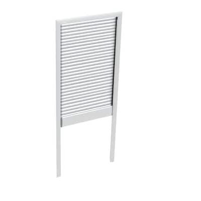 White Manual Room Darkening Skylight Blinds for FS M08 Models