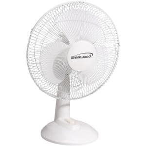 16 in. Oscillating Desk Fan