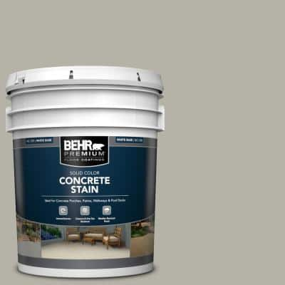 5 gal. #PFC-67 Mossy Gray Solid Color Flat Interior/Exterior Concrete Stain
