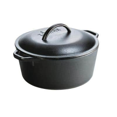 5 Qt. Cast Iron Dutch Oven with Lid