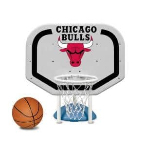 Chicago Bulls NBA Pro Rebounder Swimming Pool Basketball Game