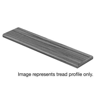 Glazed Oak / Soft Oak Glazed 47 in. L x 12-1/8 in. W x 1-11/16 in. T Laminate Right Return to Cover Stairs 1 in. Thick