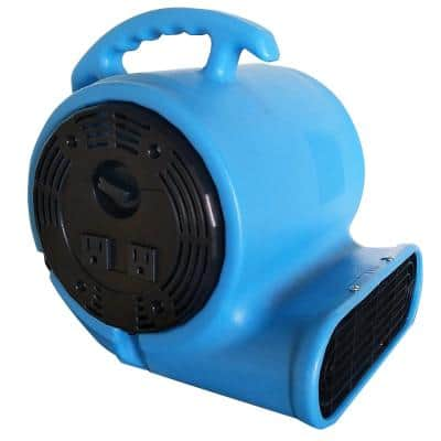 900 CFM Air Mover Blower Utility Floor Fan with Daisy Chain Capability