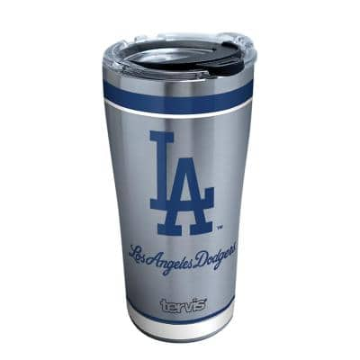 MLB Los Angeles Dodgers Tradition 20 oz. Stainless Steel Tumbler with Lid