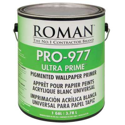 PRO-977 Ultra Prime 1 gal. Interior and Exterior Wallcovering Primer/Sealer