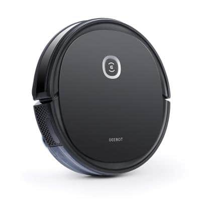 DEEBOT OZMO U2 Pro Robotic Vacuum Cleaner with Mopping Technology in Black