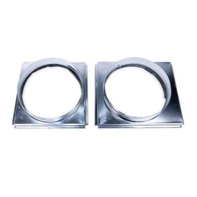 Signature Square to Round 14 in. Adapter 2-3 Ton Package Units