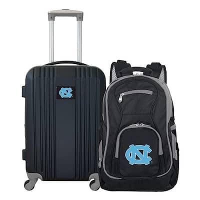 NCAA UNC Tar Heels 2-Piece Set Luggage and Backpack