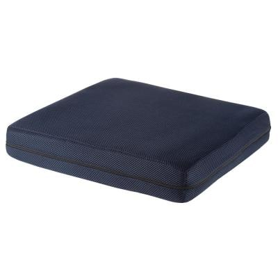 3 in. Navy Blue Thick Foam Pad Seat Cushion