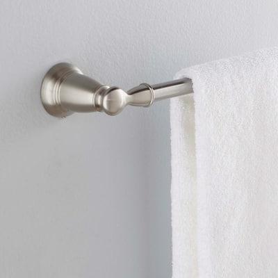 Banbury 24 in. Towel Bar in Spot Resist Brushed Nickel