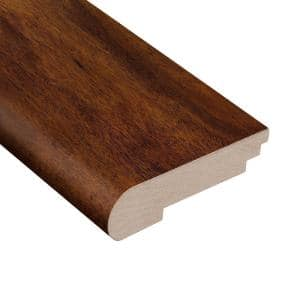 Anzo Acacia 3/4 in. Thick x 3-1/2 in. Wide x 78 in. Length Stair Nose Molding
