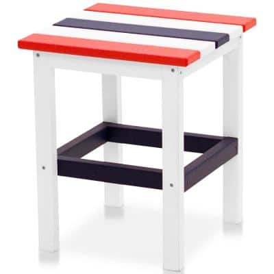 Icon Patriot Plastic Outdoor Side Table