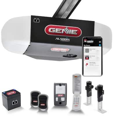 StealthDrive 1-1/4 HPc Ultra-Quiet Belt Drive Smart Garage Door Opener w/ Battery Backup and Aladdin Connect Smart Home