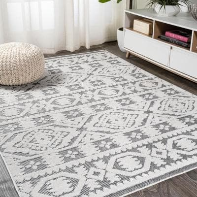 White Black Area Rugs Rugs The Home Depot