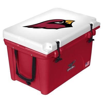 40 QT Cooler Red/White - Arizona Cardinals