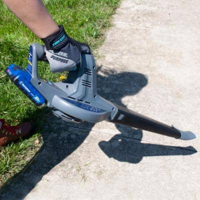 134 MPH 270 CFM 20-Volt Lithium-Ion Cordless Handheld Leaf Blower (Battery and Charger Included)