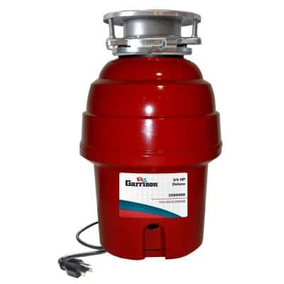 3/4 HP Deluxe Continuous Feed Garbage Disposal