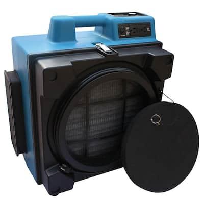 600 CFM 3-Filter HEPA Air Scrubber