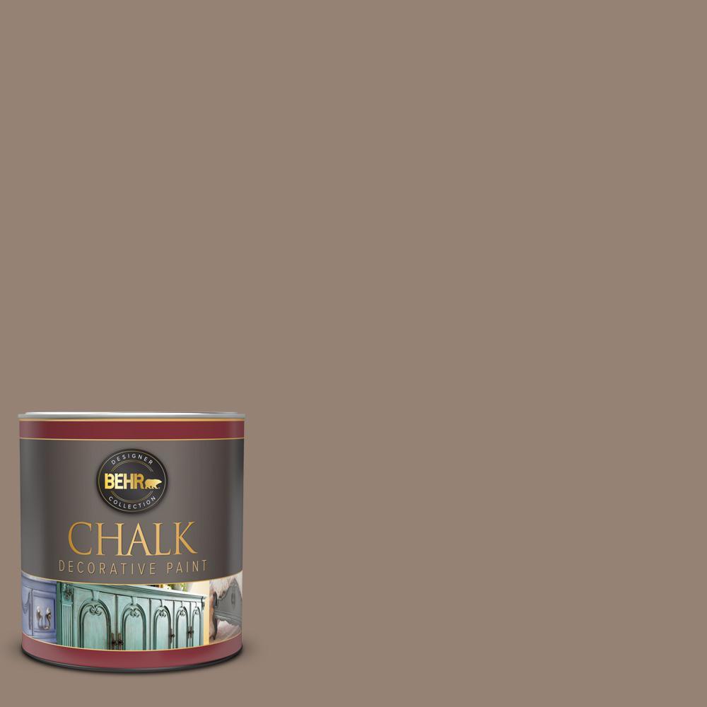 1 qt. #N230-5 Dry Brown Interior Chalk Decorative Paint