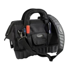 Pro Gatemouth 14 in. All Terrain Bottom Tool Bag with 12 Pockets