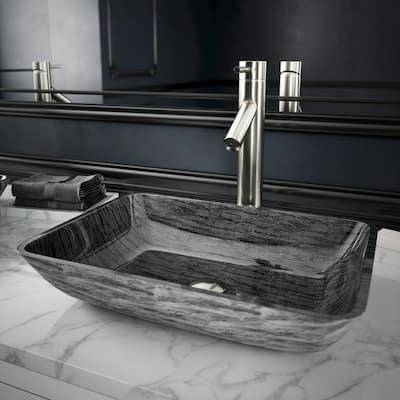 Dior Single-Handle Vessel Sink Faucet in Brushed Nickel