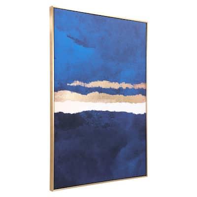 """Ocean Horizon"" Printed Canvas Wall Art 32.7 in. x 48.4 in."