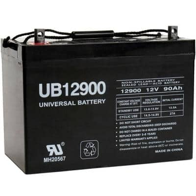 12-Volt 90 Ah Z1 Terminal Sealed Lead Acid (SLA) AGM Rechargeable Battery