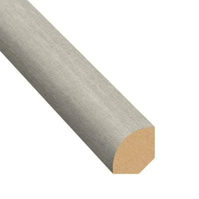 Morning Frost 0.75 in. T x 0.63 in. W x 94 in. L Quarter Round Molding