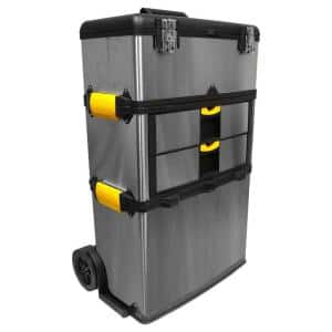 25 in. 2-Drawer Massive and Mobile Tool Box