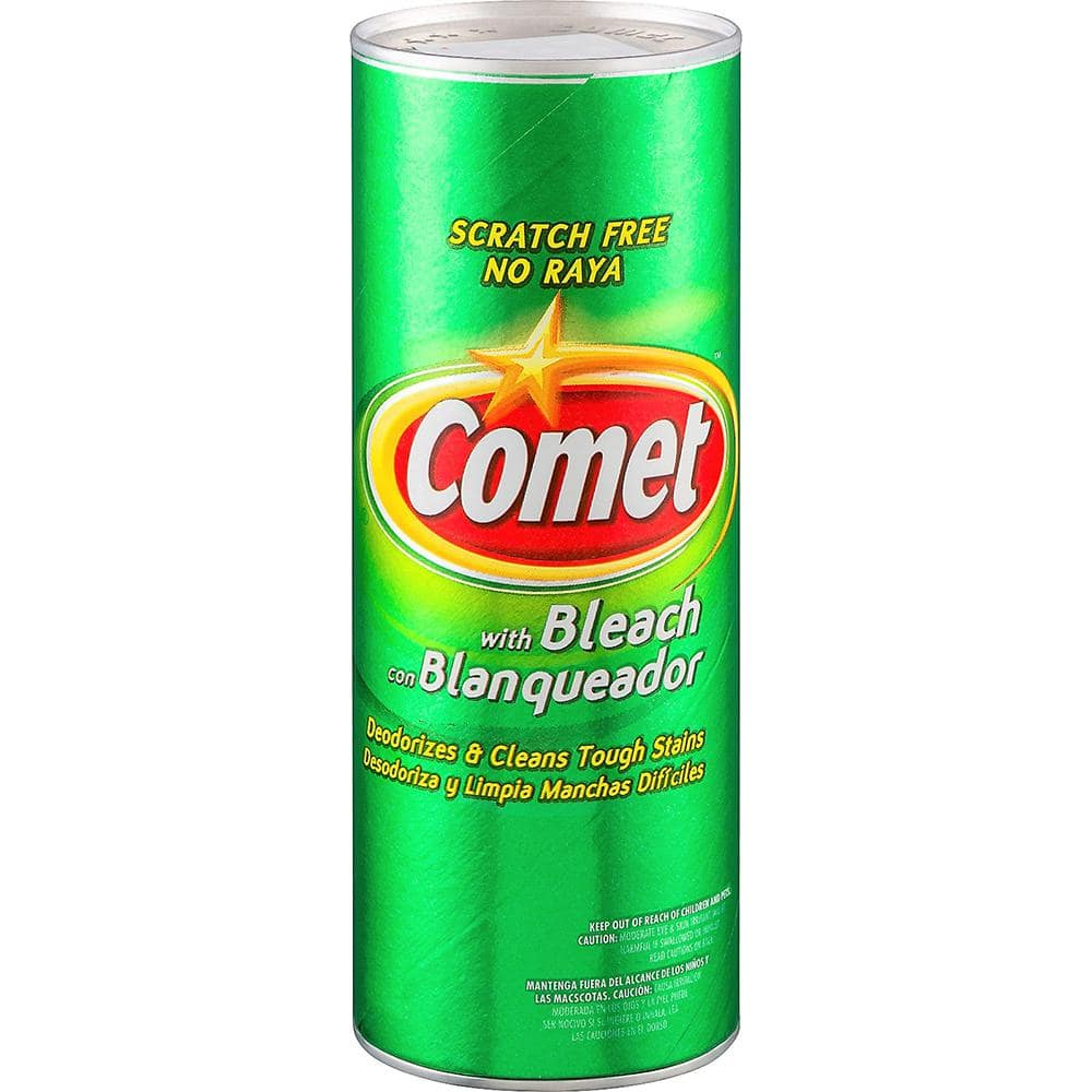 Comet 25 Oz Pine All Purpose Cleaning Powder With Bleach 10678112100641a The Home Depot