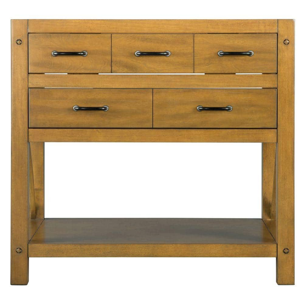 Home Decorators Collection Avondale 36 In W Bath Vanity Cabinet Only In Weathered Pine Avhos3622 The Home Depot