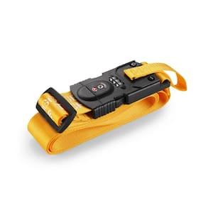 Smart Strap Bright Yellow Luggage Strap
