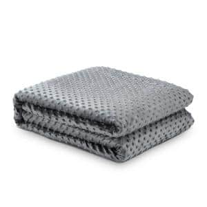 Eshe Grey Weighted Blanket 8 lbs. 48 in. x 72 in.