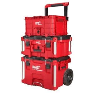 PACKOUT 22 in. Rolling Tool Box/22 in. Large Tool Box/18.6 in. Tool Storage Crate Bin