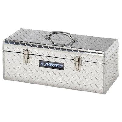 24 in. Aluminum Hand-Held Tool Box