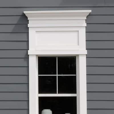 3/4 in. x 5-1/2 in. x 8 ft. White PVC Trim (6-Pack)