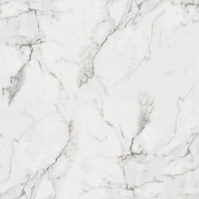 5 ft. x 12 ft. Laminate Sheet in 180fx Calacatta Marble with SatinTouch Finish