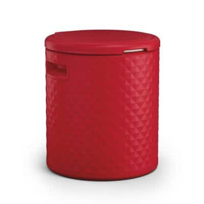 54 Qt. 3-in-1 Cooler Side Table and Decorative Stool
