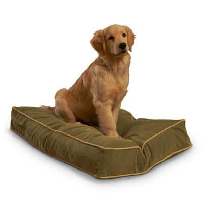 Buster Small Moss Dog Bed