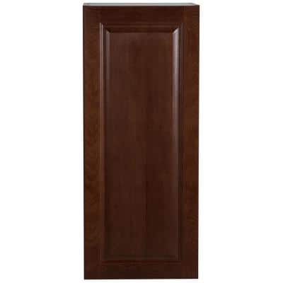 Benton Assembled 15x36x12 in. Wall Cabinet in Amber